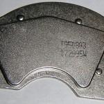 O ímã de neodímio em um suporte de uma unidade de disco rígido